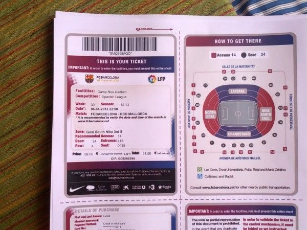 tickets barca