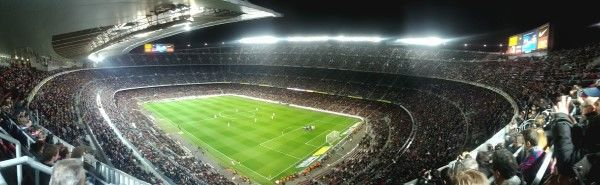 camp nou panorama